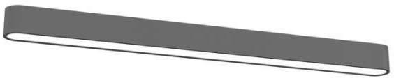 Nowodvorski plafon LAMPA sufitowa SOFT 6992 prostokątna OPRAWA metalowa IP20 gra