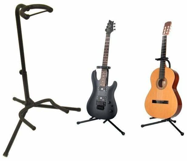 C.F.L. Uniwersalny Metalowy Statyw na Gitarę Akustyczną, Basową,