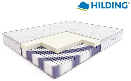Hilding RUMBA materac termoelastyczny piankowy Pokrowiec Medicott Velur Rozmiar 160x200