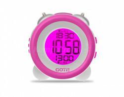 Gotie Budzik elektroniczny z mechanicznym dzwonkiem Wake Up Clock GBE-200F