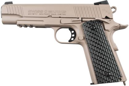 CyberGun Wiatrówka Swiss Arms 1911 Military 4,5 mm (288507)