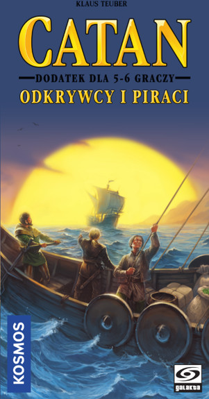 Galakta Catan: Odkrywcy i Piraci Dodatek dla 5/6 graczy