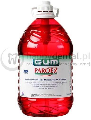 GUM Butler Sunstar ParoeX 5L (1782) - płyn do użycia w gabinecie, zawiera chlorh