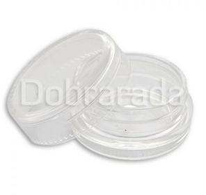 Pojemnik słoiczek plastikowy z nakrętką clear 3ml