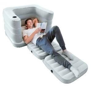 Bestway Rozkładany fotel materac 2W1 Multi Max II 200 x 102 x 64 cm Bestway 75065