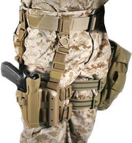 BLACKHAWK Kabura udowa Level 2 Tactical Serpa do pistoletów Beretta (430504CT-R)