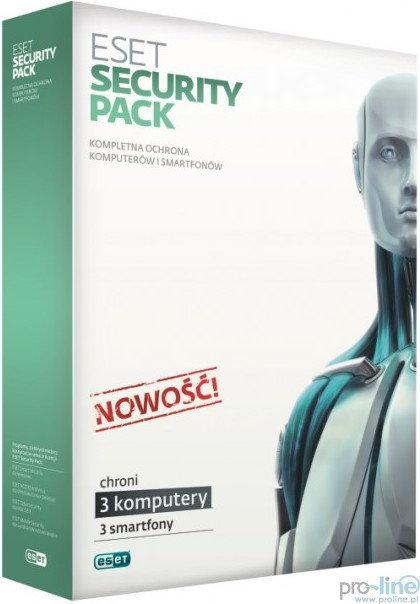 Eset Security Pack (3 stan. / 3 lata) - Nowa licencja
