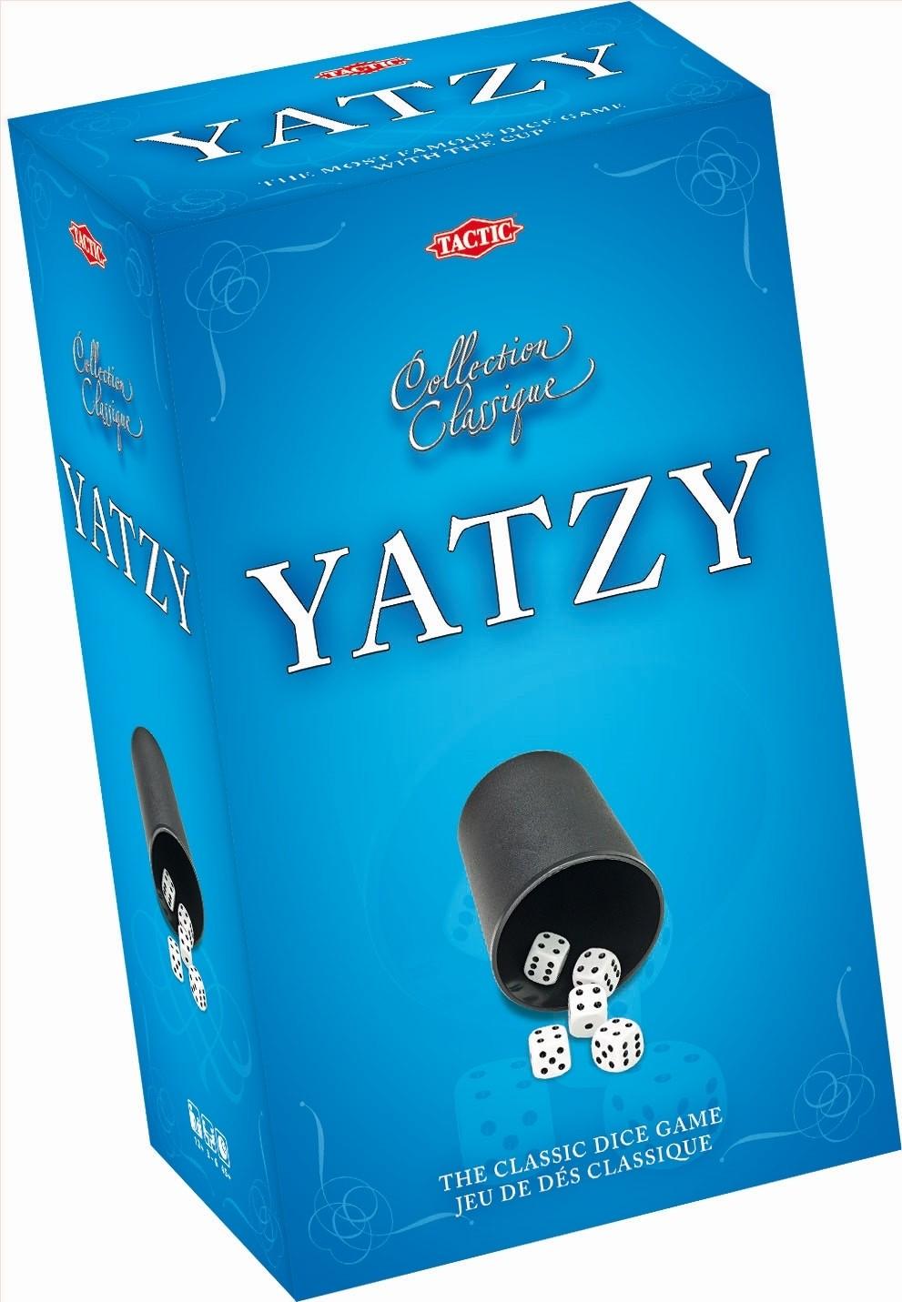 Tactic Yatzy z kubkiem Gra zręcznościowa