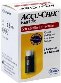 Roche Accu-Chek Fastclix lancety 24 szt