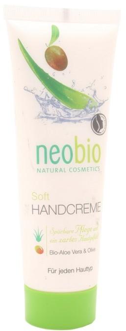 NeoBio Bio Planet Krem z wyciągiem z aloesu i oliwą - do rąk - EKO - - 75ml