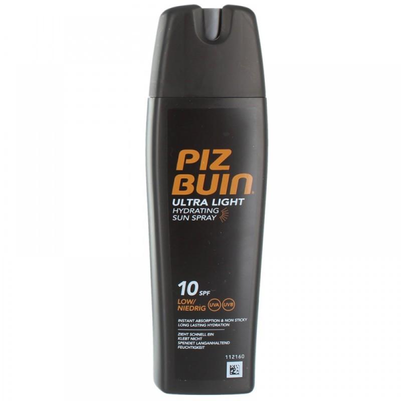 Piz Buin Ultra Light Hydrating Spray SPF 10 200 ml