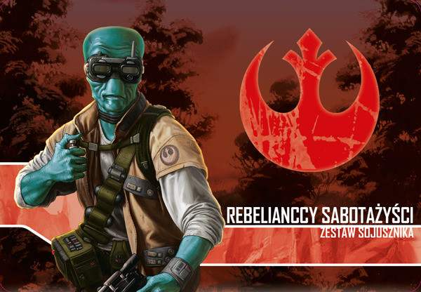 Galakta Star Wars Imperium Atakuje Rebelianccy Sabotażyści