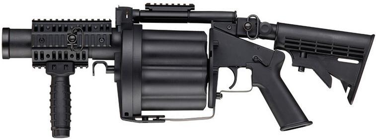 Action Sport Games Granatnik Multiple Grenade Launcher MK 1S (MIL17339) A