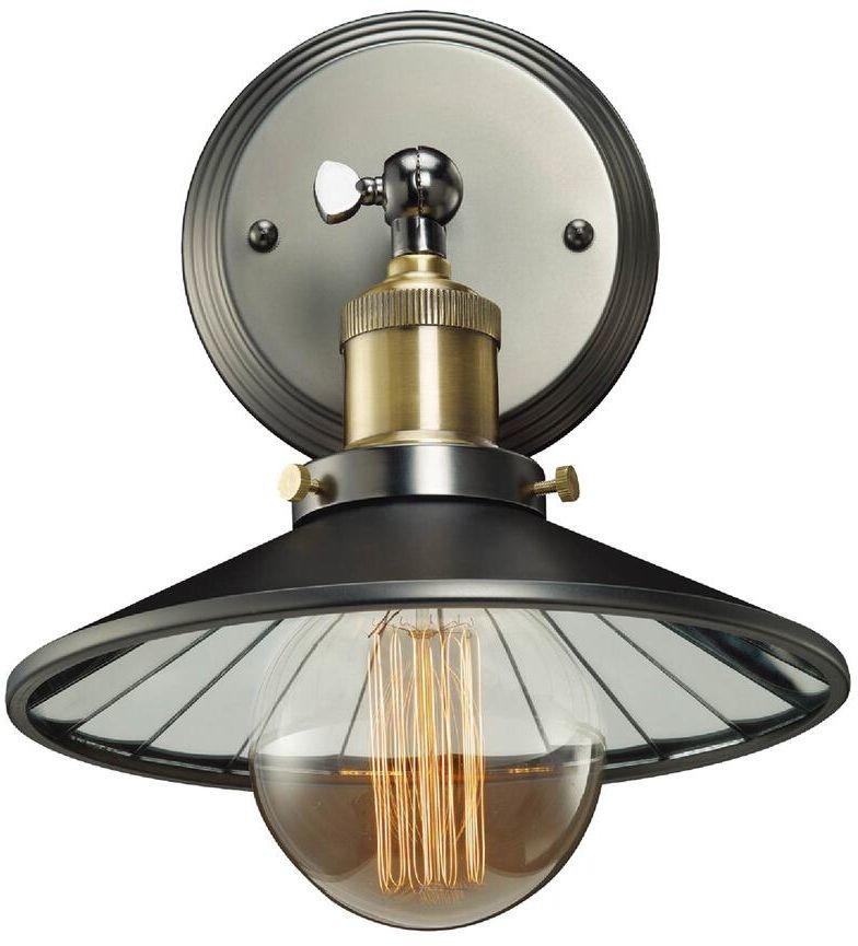 Cosmo Light Cosmolight Kinkiet klasyczny 1pł ROTTERDAM W01161BK MIR