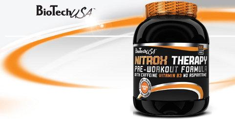 BioTech NitroX Therapy Pre-Workout Formula 680g