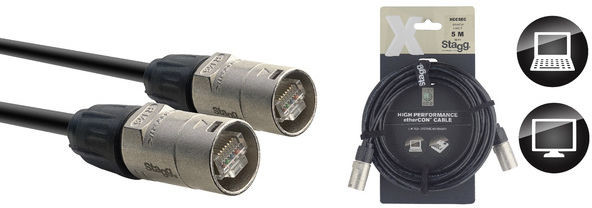 STAGG XCC5EC - kabel EtherCON 5m