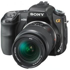Sony Alpha 200 + 18-70 kit