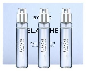 Byredo Blanche 3 x 12ml 3x uzupełnienie z atomizerem woda perfumowana