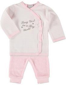 Dirkje Girls Komplet 2-częściowy stripe light pink 31U-21000H_1