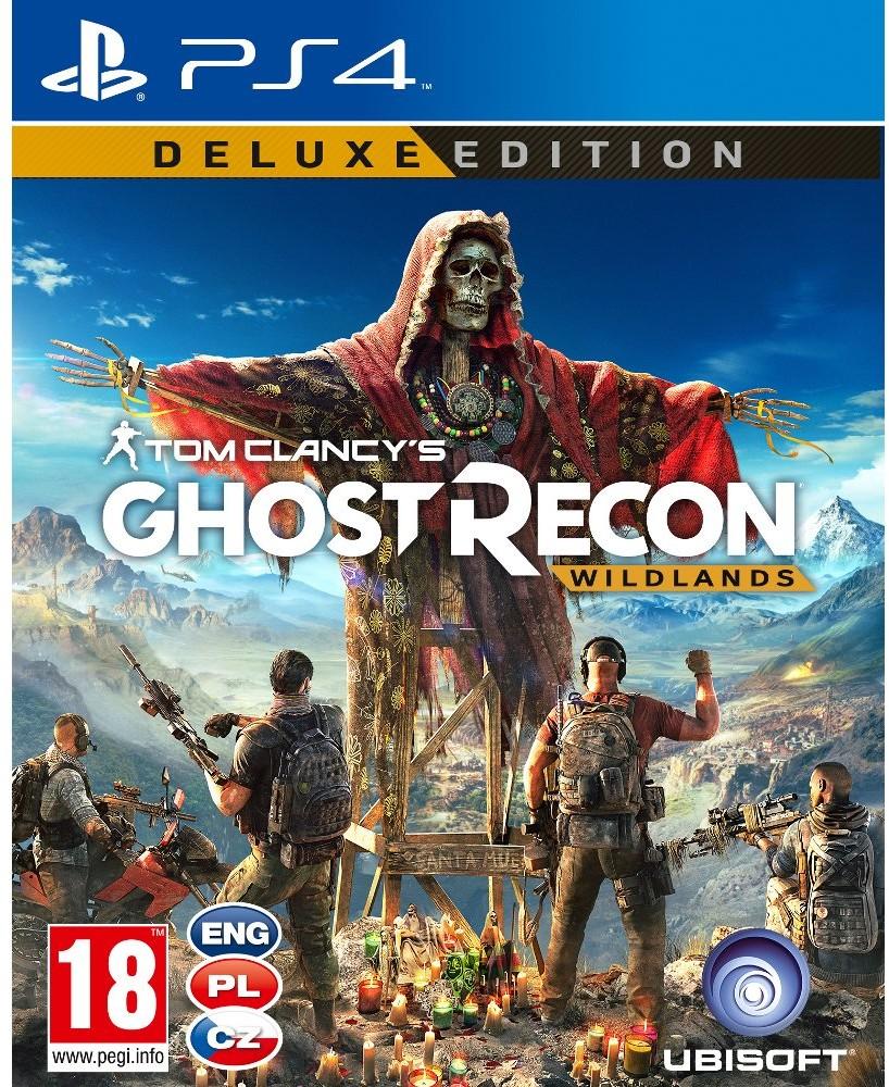 Tom Clancy's Ghost Recon Wildlands Deluxe Edition (GRA PS4)