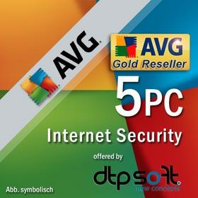 AVG Internet Security 2016 (5 stan. / 1 rok) - Nowa licencja