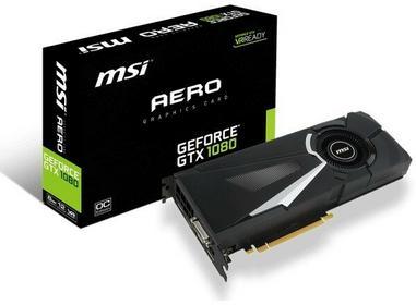 MSI GeForce GTX 1080 Aero 8G OC VR Ready
