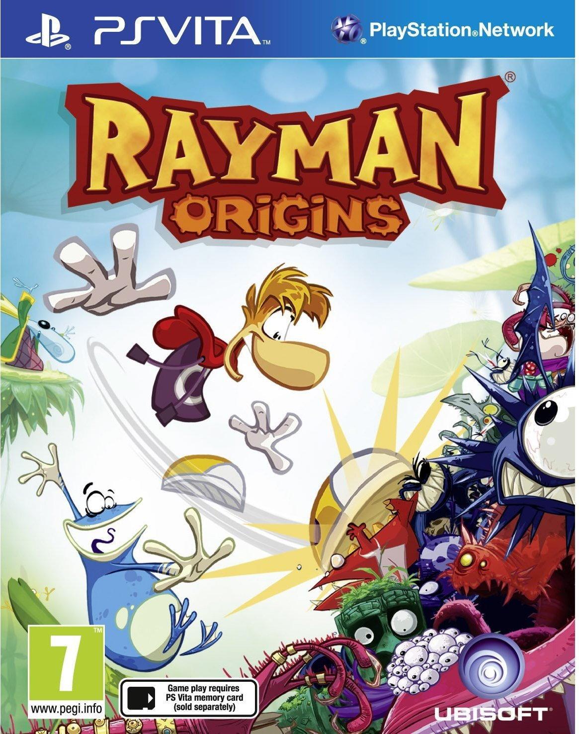 Ubisoft Rayman Origins PS Vita