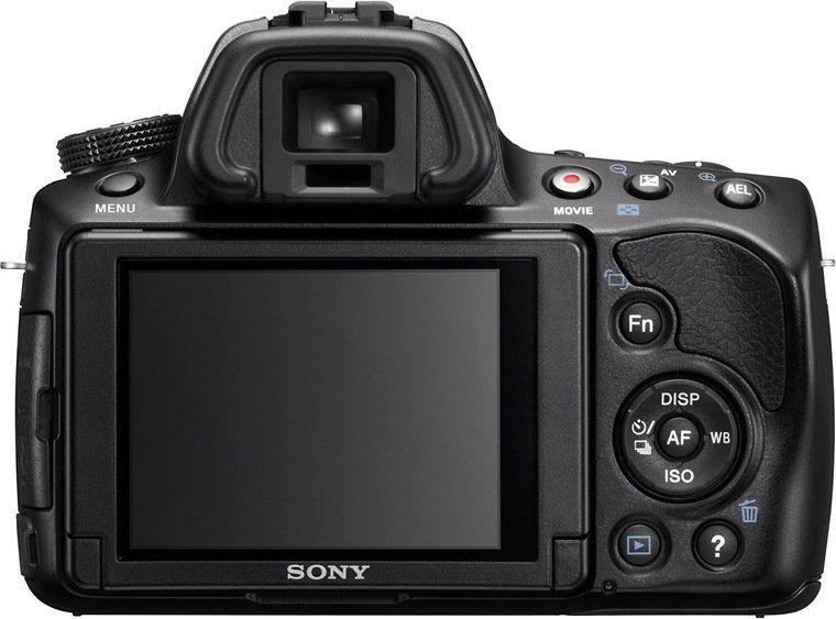 Sony Alpha 37 + 18-55 kit 3D
