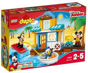 LEGO Duplo Mickey i Przyjaciele - Domek przy plaży 10827