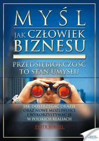 Piotr Surdel: Myśl jak człowiek biznesu e-book, okładka ebook