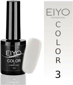 EIYO Lakier hybrydowy, Natural - Biały French - 3 - 15ml