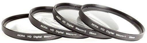 Opinie o Akira zestaw soczewek makro 55 mm