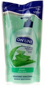 On Line mydło w płynie Aloes zapas 500ml