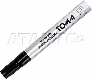 Toma Marker Permanentny 1.5mm czarny ścięty TO091 VT6044
