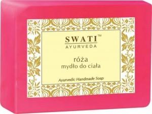 Swati Mydło w kostce Róża Indyjskie Różane 100g