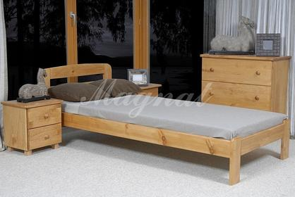 Łóżko SARA 90x200 90x200 sosna