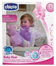 Chicco Miś z projektorem różowy