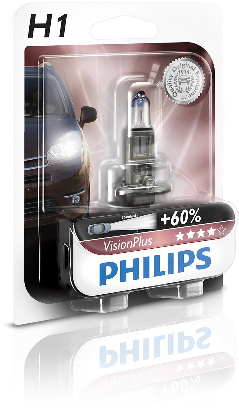 Philips H1 12V 55W P14,5s Vision