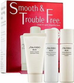 Shiseido Ibuki Gentle Cleanser Pianka oczyszczająca 30ml + Refining Moisturizer