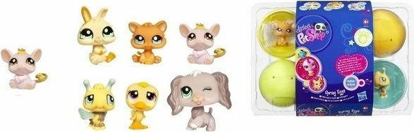 Hasbro Figurka Littlest Pet Shop Wiosenne Jajo Myszka 1370