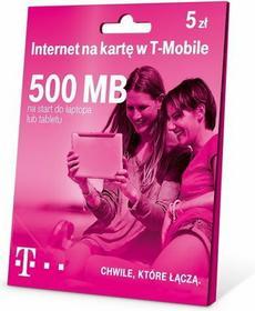 T-Mobile Internet na Kartę 500 MB 5 zł