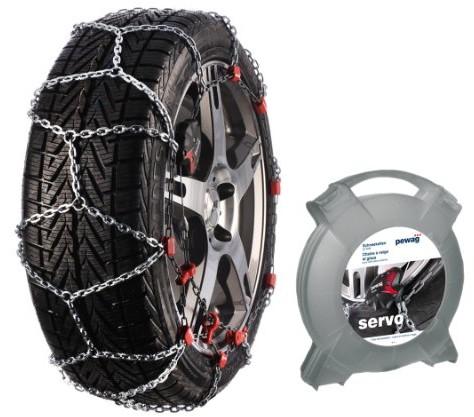 PEWAG SERVO RS, łańcuchy na opony samochodów, 2 sztuki RS 73