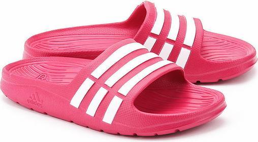 adidas Duramo Slide K - Różowe Piankowe Klapki Dziecięce - D67480