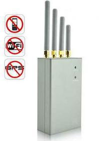 SML Profesjonalny Mobilny Multi-Zagłuszacz Urządzeń do Lokalizacji / Monitoringu