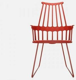 Kartell Krzesło Comback czerwone - 5950-10