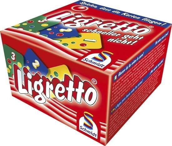 Schmidt Spiele Ligretto czerwonym pudełku