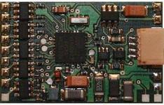 TAMS Dekoder lokomotywy Elektronik LD-G 34 Plus 26 5 17 5 x 5 mm NEM 652