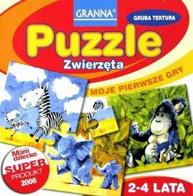 Granna Puzzle Zwierzęta