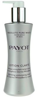 Payot Absolute Pure White woda tonizująca do wszystkich rodzajów skóry Lotion Clarte 200ml