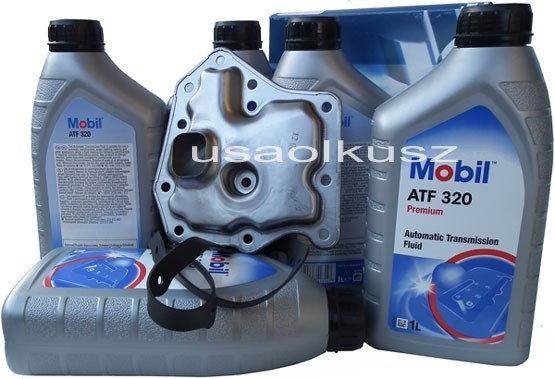 Mobil Filtr oraz olej ATF-320 automatycznej skrzyni biegów Mercury Villager -199
